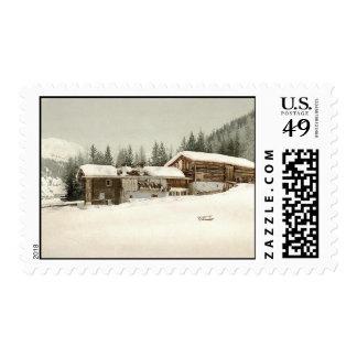 Vintage Grisons, Switzerland - Postage