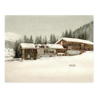 Vintage Grisons, Switzerland - Postcard