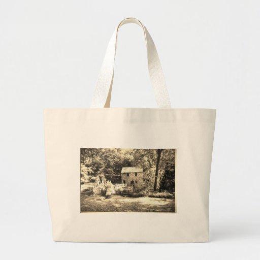 Vintage Grist Mill Bag