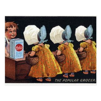 Vintage Groceries Postcards