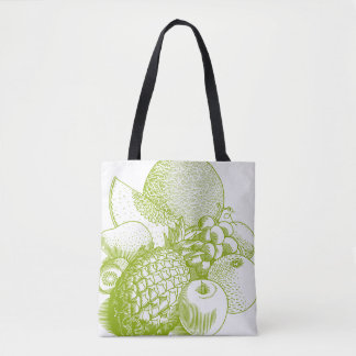 Vintage Groceries Tote bag