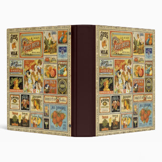 Vintage Grocery Binder/Album