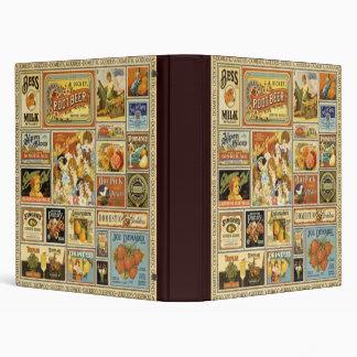 Vintage Grocery Binder/Album Binder