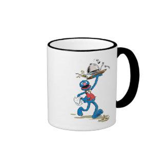 Vintage Grover el camarero Taza De Dos Colores