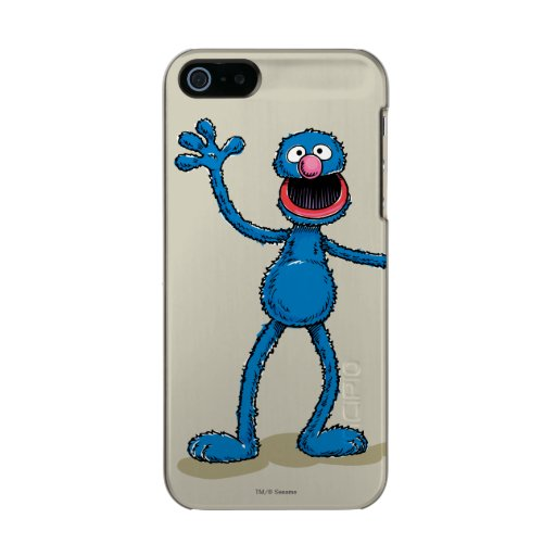 Vintage Grover Metallic Phone Case For iPhone SE/5/5s