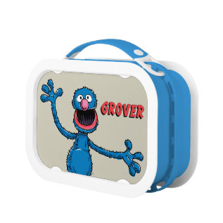 Vintage Grover Lunch Box at Zazzle