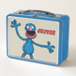 """Vintage Grover Metal Lunch Box<br><div class=""""desc"""">Check out Grover in this vintage graphic!       This item is recommended for ages 2 . &#169;  2014 Sesame Workshop. www.sesamestreet.org</div>"""