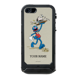 Vintage Grover the Waiter | Add Your Name Waterproof iPhone SE/5/5s Case