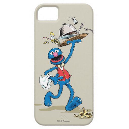 Vintage Grover the Waiter iPhone SE/5/5s Case