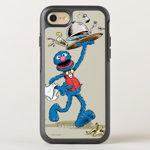 Vintage Grover the Waiter OtterBox Symmetry iPhone SE/8/7 Case