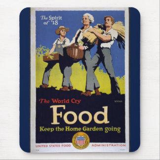 Vintage Grow Food mousepad