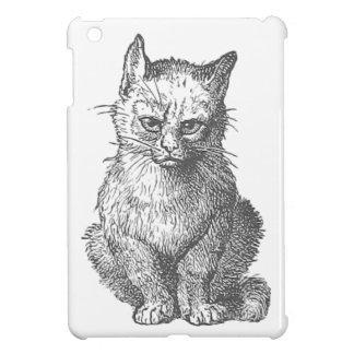 Vintage Grumpy Cat Design iPad Mini Cover