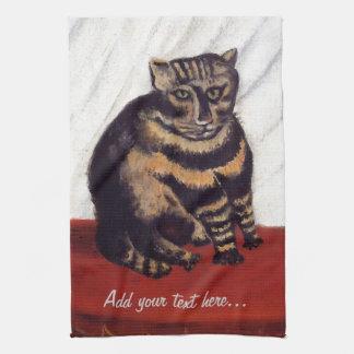 Vintage Grumpy Cat Towel