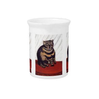 Vintage Grumpy Cat Drink Pitcher
