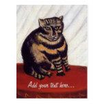 Vintage Grumpy Cat Post Card