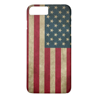 Vintage Grunge American Flag iPhone 7 Plus Case