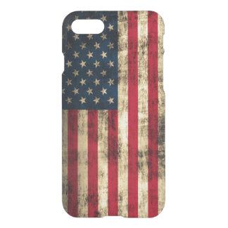 Vintage Grunge American Flag iPhone 8/7 Case