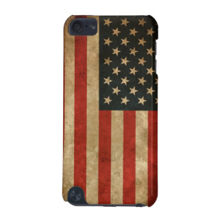 Vintage Grunge American Flag - USA Patriotic iPod Touch 5G Case