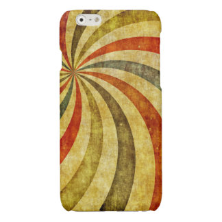 Vintage Grunge Background as Carnival Circus Glossy iPhone 6 Case