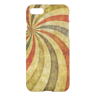 Vintage Grunge Background as Carnival Circus iPhone 8/7 Case