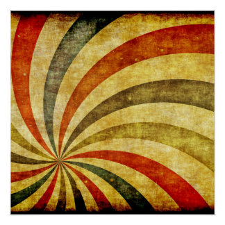 Vintage Grunge Background as Carnival Circus Poster
