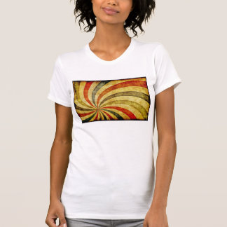 Vintage Grunge Background as Carnival Circus T-shirt