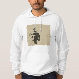 Vintage grunge Buddha art hipster trendy retro chi Hoodie