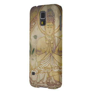 Vintage Grunge Buddha Galaxy S5 Cover