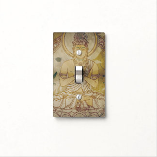 Vintage Grunge Buddha Light Switch Covers