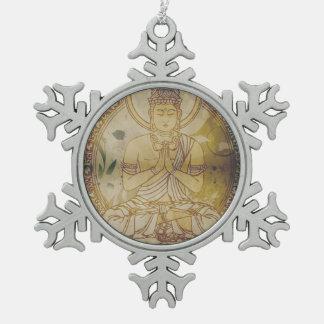 Vintage Grunge Buddha Ornaments