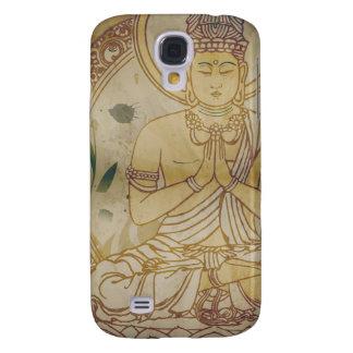 Vintage Grunge Buddha Samsung Galaxy S4 Cover
