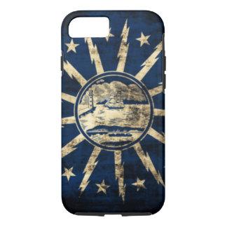 Vintage Grunge Buffalo Flag New York iPhone 8/7 Case