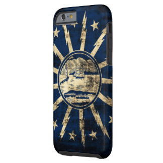 Vintage Grunge Buffalo Flag New York Tough iPhone 6 Case