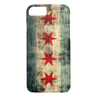 Vintage Grunge Chicago Flag iPhone 8/7 Case