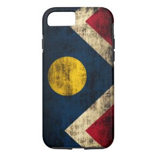 Vintage Grunge Denver Colorado Flag iPhone 7 Case