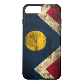 Vintage Grunge Denver Colorado Flag iPhone 8 Plus/7 Plus Case