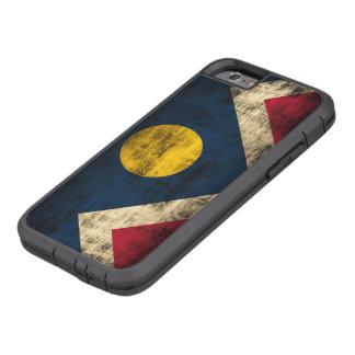 Vintage Grunge Denver Colorado Flag Tough Xtreme iPhone 6 Case