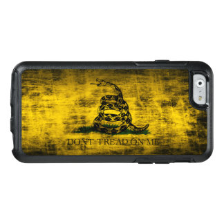 Vintage Grunge Don't Tread On Me Flag OtterBox iPhone 6/6s Case