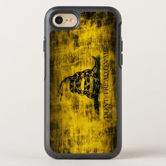 Vintage Grunge Dont Tread On Me Flag Otterbox Iphone Case Zazzlecom