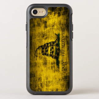 Vintage Grunge Don't Tread On Me Flag OtterBox Symmetry iPhone 7 Case