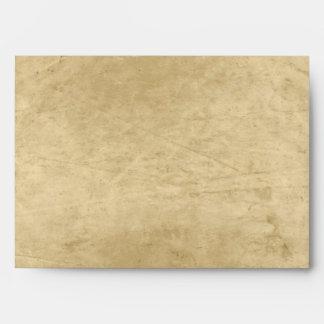 Vintage grunge envelope