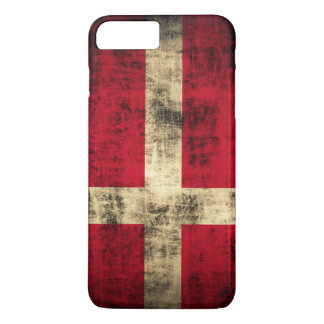 Vintage Grunge Flag of Denmark iPhone 8 Plus/7 Plus Case