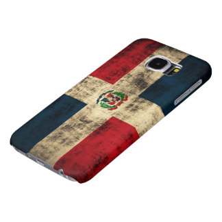 Vintage Grunge Flag of Dominican Republic Samsung Galaxy S6 Cases