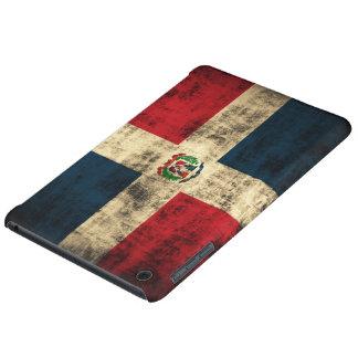 Vintage Grunge Flag of Dominican Republic iPad Mini Retina Cover