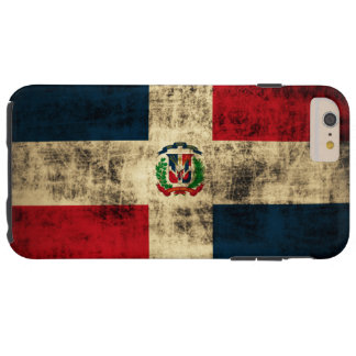 Vintage Grunge Flag of Dominican Republic iPhone 6 Plus Case