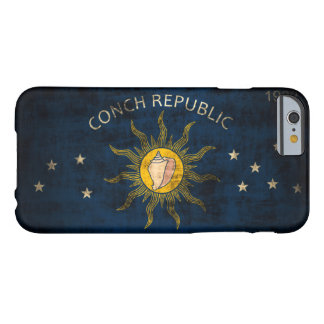 Vintage Grunge Flag of Key West Florida Barely There iPhone 6 Case