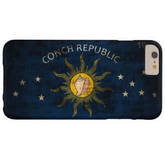 Vintage Grunge Flag of Key West Florida Barely There iPhone 6 Plus Case