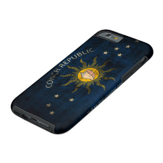 Vintage Grunge Flag of Key West Florida Tough iPhone 6 Case