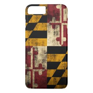 Vintage Grunge Flag of Maryland iPhone 7 Plus Case
