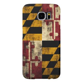 Vintage Grunge Flag of Maryland Samsung Galaxy S6 Case